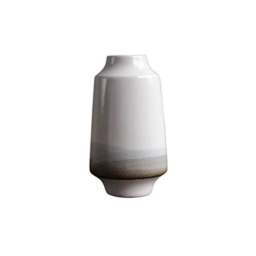 Combinatie vaas, Chinese stijl decoratieve vaas handgemaakte keramische vaas Creative Bloemstuk Vaas verkrijgbaar in 3 maten makkelijk te gebruiken vase (Size : 14.5 * 14.5 * 27CM)