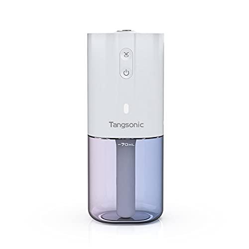 Tinked Mini humidificador de Aire portátil difusor de nieBlack de aromaterapia de Aceite Esencial LED para Oficina en casa Difusor Inalámbri