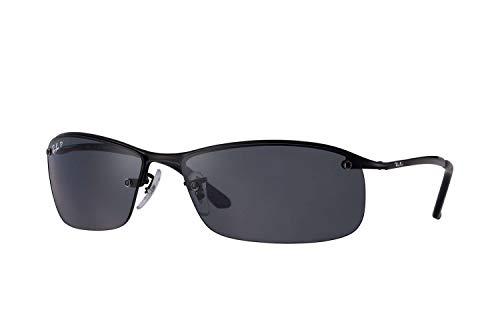 Ray-Ban Topbar RB3183 Black / Grey Polarisierte Gläser