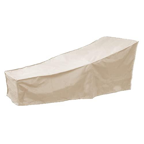 Protección para Muebles de Patio, Cubierta para Muebles de Patio Súper Ligera, Resistente y Duradera, Resistente al Agua para la protección de Muebles de Patio(Beige)