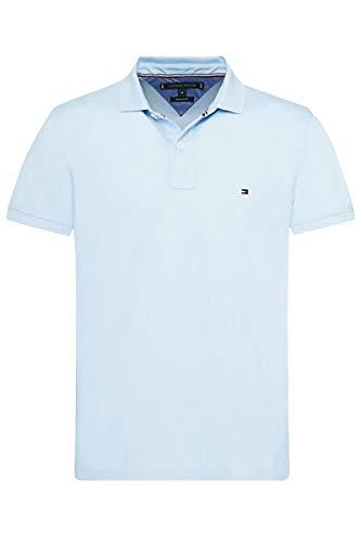 Tommy Hilfiger Herren Poloshirt Regular Fit Kurzarm bleu (50) XXL