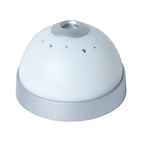 Cabecera Cuarto Silencio Despertadores LED Mágico colorido reloj digital estrellado, reloj de alarma de proyección de niños / proyector de proyección de techo nocturno estrella estrella reloj desperta