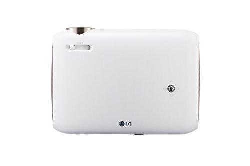LG Minibeam PW1500G Tragbarer LED-Projektor, WXGA (1280 x 800) - Weiß