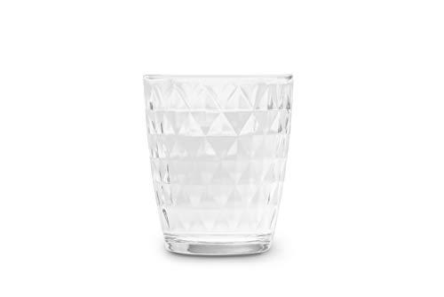 Excelsa Vienna - Juego de 6 vasos de agua, cristal