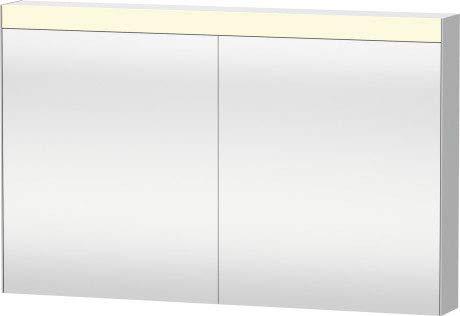 Duravit Best Spiegelschrank 1210 mm, 2 Spiegeltüren, nur Aufputz