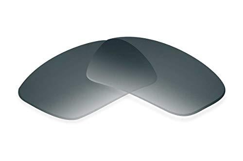SFx - Lentes de repuesto para gafas de sol compatibles con agujeros de nariz Ray-Ban RB3239-1,2 mm, 62 mm (polarizados SFx-Diamond Black Onyx Gradient Pol)
