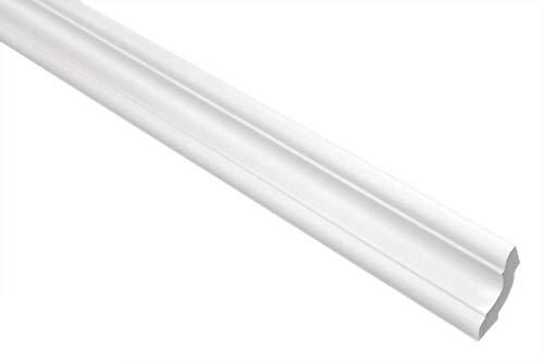 Marbet Deckenleisten aus Styropor XPS - Hochwertige Stuckleisten leicht & robust im modernen Design - (30 Meter Sparpaket E-24-29x29mm) Eckleisten