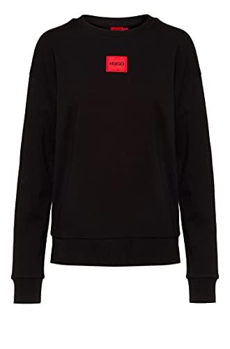 HUGO Damen Nakira_redlabel Sweatshirt, Black1, M