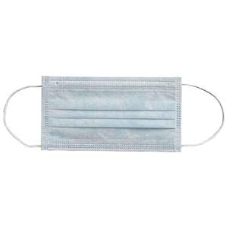 耐えるハーフ予感(まとめ) 川西工業 メディカルマスク3PLY ブルー【×30セット】