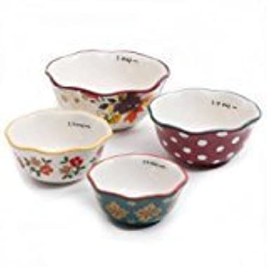 The Pioneer Woman Autumn Harvest 4-Piece Measuring Bowls