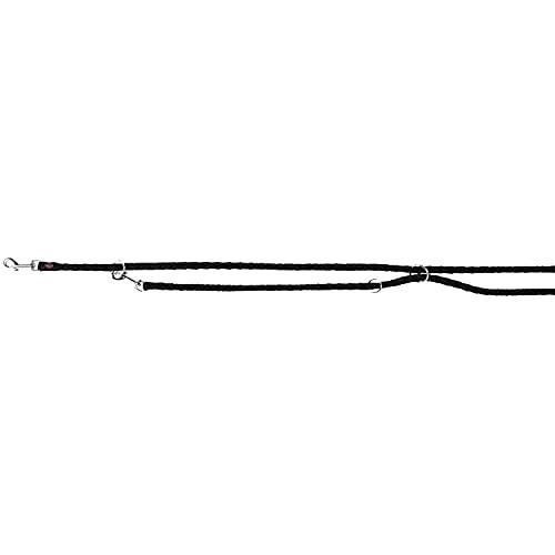 Trixie 143501 Cavo V~Leine, S–M: 2,00 m/ø 12 mm, schwarz