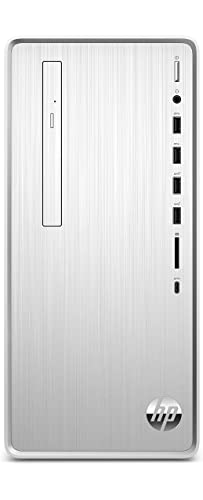 HP – PC Pavilion TP01-2058nl Desktop, Intel Core i5-11400, RAM 16 GB, SSD 512 GB, Scheda Grafica Intel Iris Xe, Windows 10 Home, HDMI, VGA, USB-C, USB, Mouse e Tastiera USB Inclusi, Argento