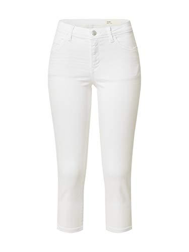 ESPRIT Damen 030EE1B328 Jeans, Weiß (100/White), 31/22