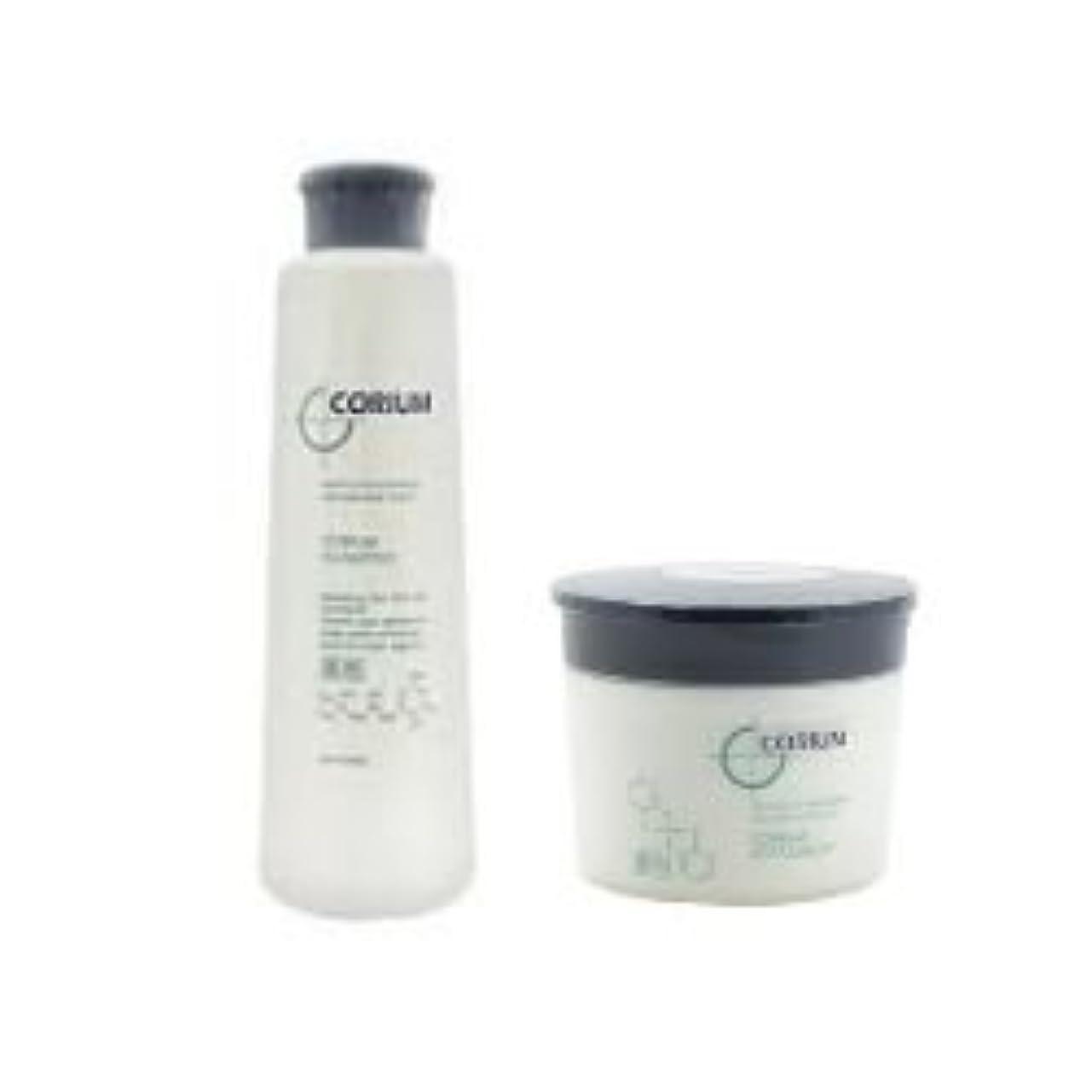 制限するリボンフラスコナカノ 薬用コリュームシャンプー 335ml & リペアメント 250g セット