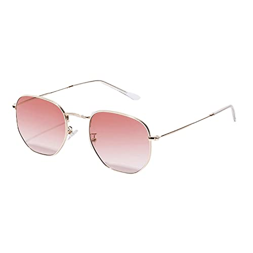 Gafas de sol unisex cuadradas de aleación de moda con marco de protección UV, gafas de Navidad, gafas de Navidad para adultos, gafas de Navidad, gafas de Navidad, marco de Navidad
