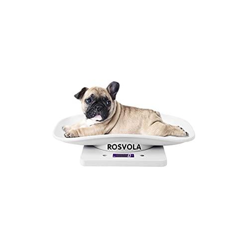 【𝐏𝐫𝐨𝐦𝐨𝐜𝐢ó𝐧 𝐝𝐞 𝐒𝐞𝐦𝐚𝐧𝐚 𝐒𝐚𝐧𝐭𝐚】Báscula para Mascotas, 10 kg/1g Báscula Digital para Mascotas pequeña para Gatos, Perros, Herramienta de medición Báscula electrónica de Cocina, niños p