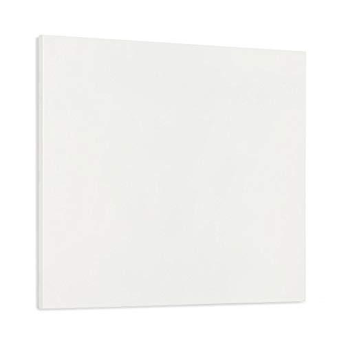 KLARSTEIN Wonderwall Air Infinite - Calefactor infrarrojo, Panel calentado, Sin Marcos, Silencioso, Montaje en la Pared, Sistema OpenWindow, para alérgicos, Termostato, 300 W, 60 x 50 cm, Blanco