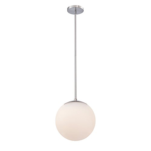 WAC Lighting PD-52310-BN Small 10-Inch Niveous Pendant