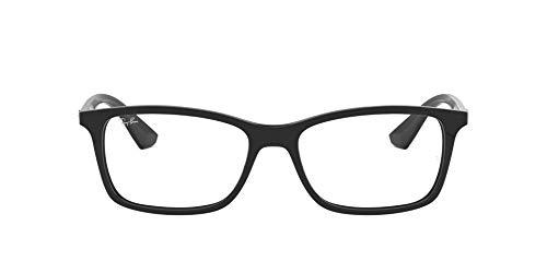 Ray-Ban 0rx 7047 2000 56 Monturas de gafas, Black, Hombre