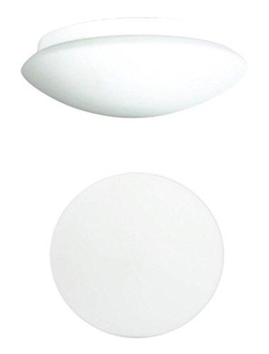 Trango MV360LB LED Sensor IP44 Außenlampe I Deckenlampe mit Bewegungsmelder I Außenleuchte, Deckenleuchte mit Sensor mit hochwertiges Opalglas inklusive 1x E27 LED Leuchtmittel Radar-Bewegungssensor