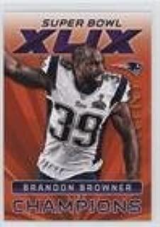 Brandon Browner (Football Card) 2015 Panini Super Bowl XLIX - Promo Pack Champions #16