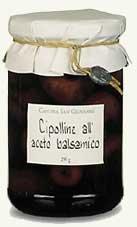 Primopasto Borettane-Zwiebeln in Balsamico - 290 g (Abtropfgewicht 180 g)