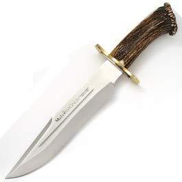 Muela- MAGNUM-26. Cuchillo Herramienta para Caza, Pesca, Camping, Outdoor, Supervivencia y Bushcraft