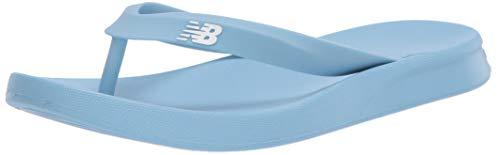 New Balance Men's 24 V1 Flip Flop, Summer Sky/White, 12 Wide -  SUT24B1-412-12 D US418