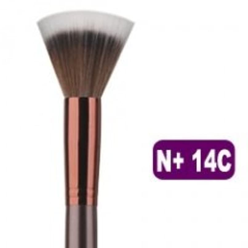 ブルジョン音楽家免疫メイクブラシ 化粧筆 フェイスブラシ スティプリングブラシ N+ 14C