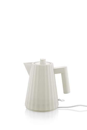 Alessi MDL06/1 W Elektrischer Wasserkocher, weiß