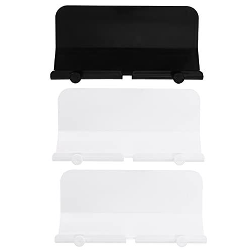 Lurrose 3Pcs Parede Adesivo De Montagem Titulares de Telefone Tablet para Adesivo de Parede Suportes de Carregamento Do Telefone Celular Titulares Chave Organizer Cord