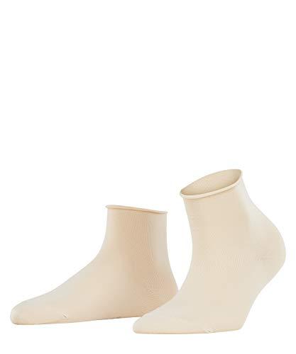 FALKE Damen Socken Cotton Touch Short - Baumwollmischung, 1 Paar, Elfenbein (Cream 4019), Größe: 39-42