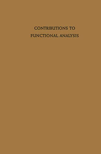Contributions to Functional Analysis
