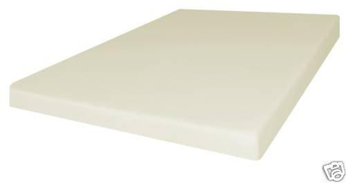 American 4 Inch Firm Conventional Polyurethane Foam RV/Truck Mattress Bed Cushion USA Made