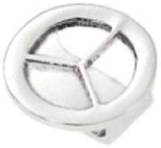 Opex -XC60001B - Watch Charm's - Bague de Montre Femme - Acier Inoxydable - Peace&Love