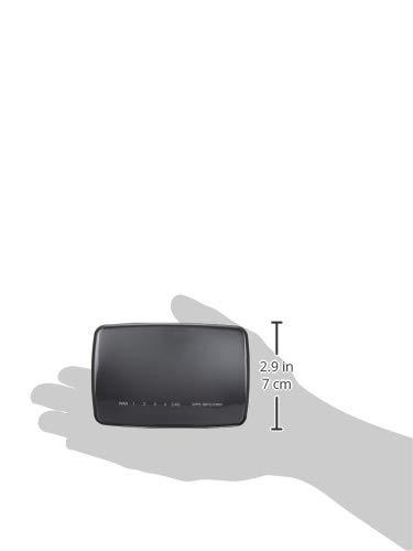 エレコムWiFi無線LAN中継器11n/g/b300MbpsACアダプタ接続モデルWRC-300FEBK-R