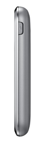 Samsung C3310 Champ Deluxe Smartphone (7,1 cm (2,8 Zoll) Touchscreen, 1,3 Megapixel Kamera, 30MB Speicher) metallic-silver