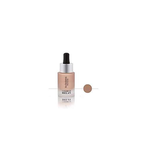 Helan - Base de maquillaje ecológica, iluminadora, tamaño mediano, 15 ml
