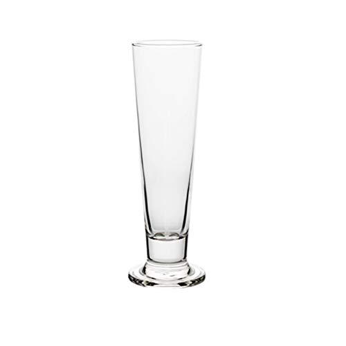 Einfachheit Bierglas 420ml Hohe Kapazität Kristallglas Rotwein Glas Taille Tasse Stemware Glas Haushalt 8x24cm MUMUJIN