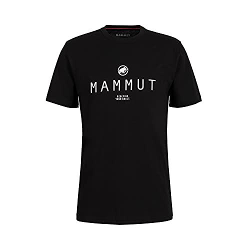 Mammut Herren Seile T-Shirt, Black Prt4, XL
