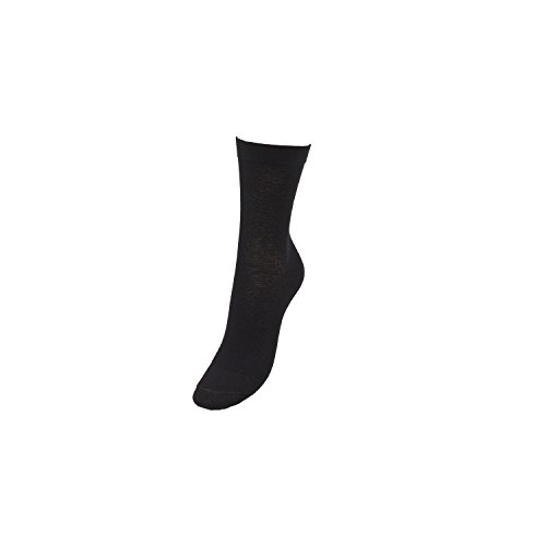 COMPRESSANA Aktiv - Sport-Socken mit Kompressions-Effekt & Bandagen-Wirkung - Kompressionseffekt Ø 18 mmHg - Größe III - Farbe schwarz