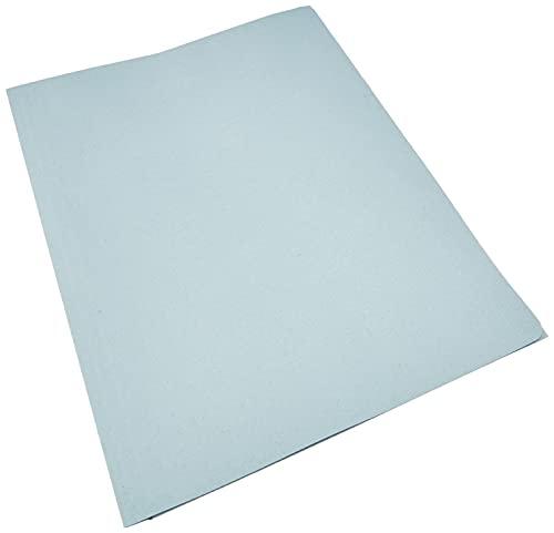 Cartellina 3 lembi in cartoncino Manilla 150 Gr - 25x33 cm Confezione 50 pezzi Azzurro