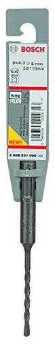 Bosch 2608831000 - Broca SDS-Plus Bosch 4 mm