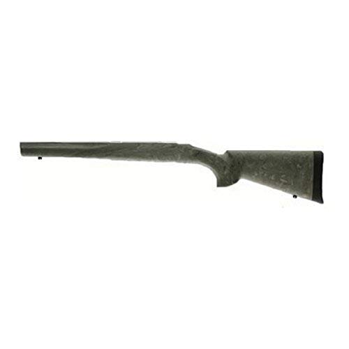 Hogue 77803 Ruger 77 Mkii Long Action OverMolded Stock, Standard Barrel, Full Bed Block, Ghillie Green, one Size