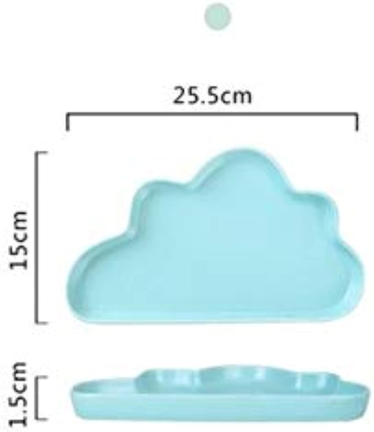 Farmerly 3 Sizes Creative Ceramic Porcelain Cloud Raindrop
