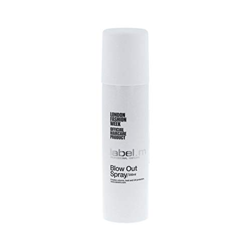 Label.M Blow Out Spray (200ML/6.76 oz) Heat Protectant Spray Creates Volume, Texture, Root Lift, Shine While Protecting Hair Against Heat Styling with Blow Dryer, Flat Iron, or Curling Iron