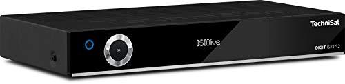 TechniSat DIGIT ISIO S2 - HD Sat-Receiver mit Twin-Tuner (HDTV, DVB-S2, PVR Aufnahmefunktion via USB oder im Netzwerk, Smart-TV, CI+, HDMI, App-Steuerung, UPnP-Livestreaming) schwarz