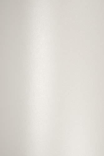X Hojas de nácar blanco G DIN A4210x 297mm Majestic Marble White Ideal para Bodas, cumpleaños, Bautizo, Navidad, invitaciones, tarjetas de diplome, bolsas de regalo, ocasión, Carta