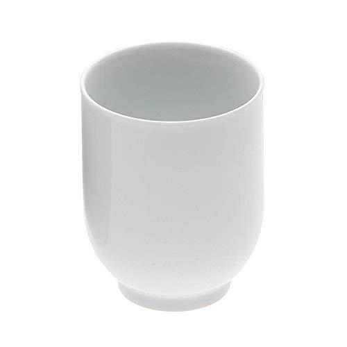 エムズスタイル すず白 湯呑 MS-D1010