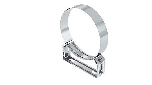 Abstandshalter verstellbar 50-70 mm für Edelstahlschornstein Ø 180 mm